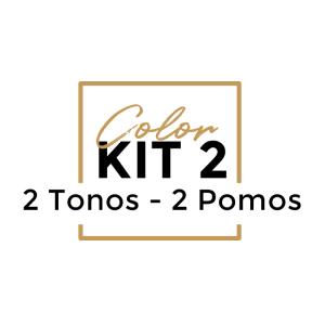 Color Kit 2 POMOS - 2 TONOS