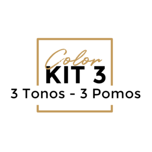 Color Kit 3 POMOS - 3 TONOS
